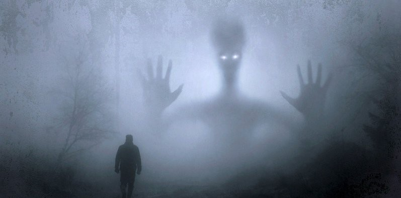 Scary Black Humanoid