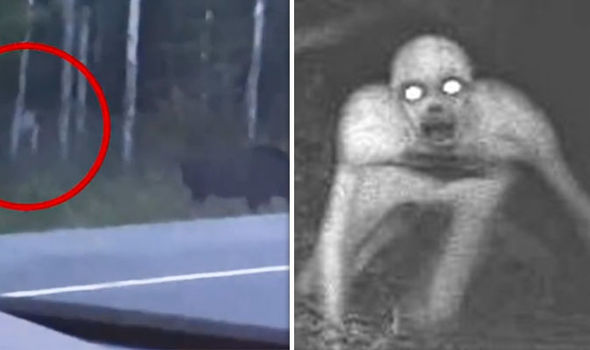 Faceless Humanoid Creatures
