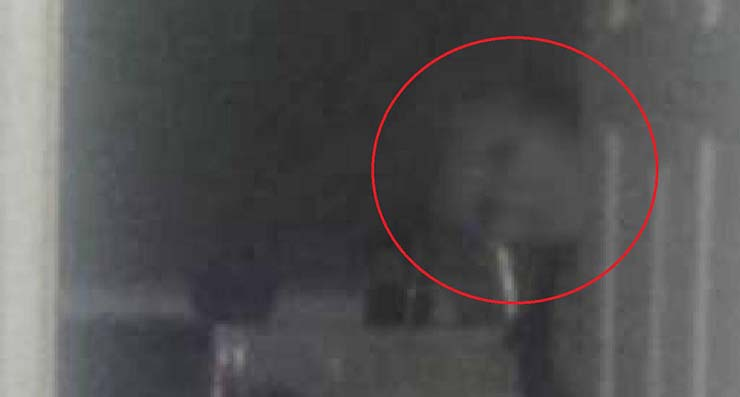 A Man Runs Away From Home After Hearing Strange Noises And Photographing A Ghost Staring At Him