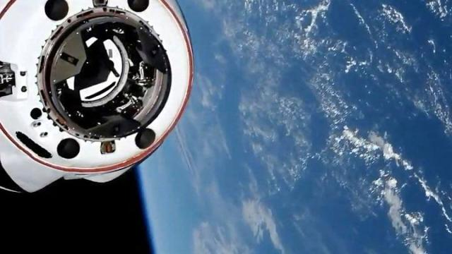 SpaceX Crew Dragon Nearly Collided With A UFO