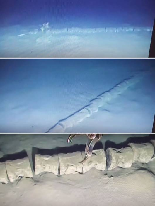 Mysterious 30 Metre Large Skeleton Found In Mediterranean Sea: The Remains Of A Mythical Sea Serpent?