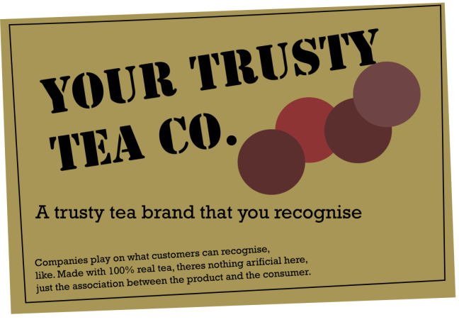 trusty tea co allows product association quality brand reputation