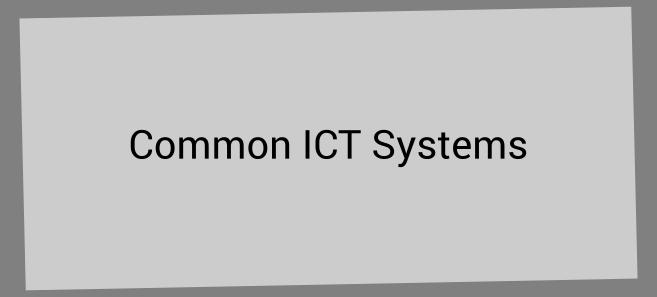 common ict systems infobox