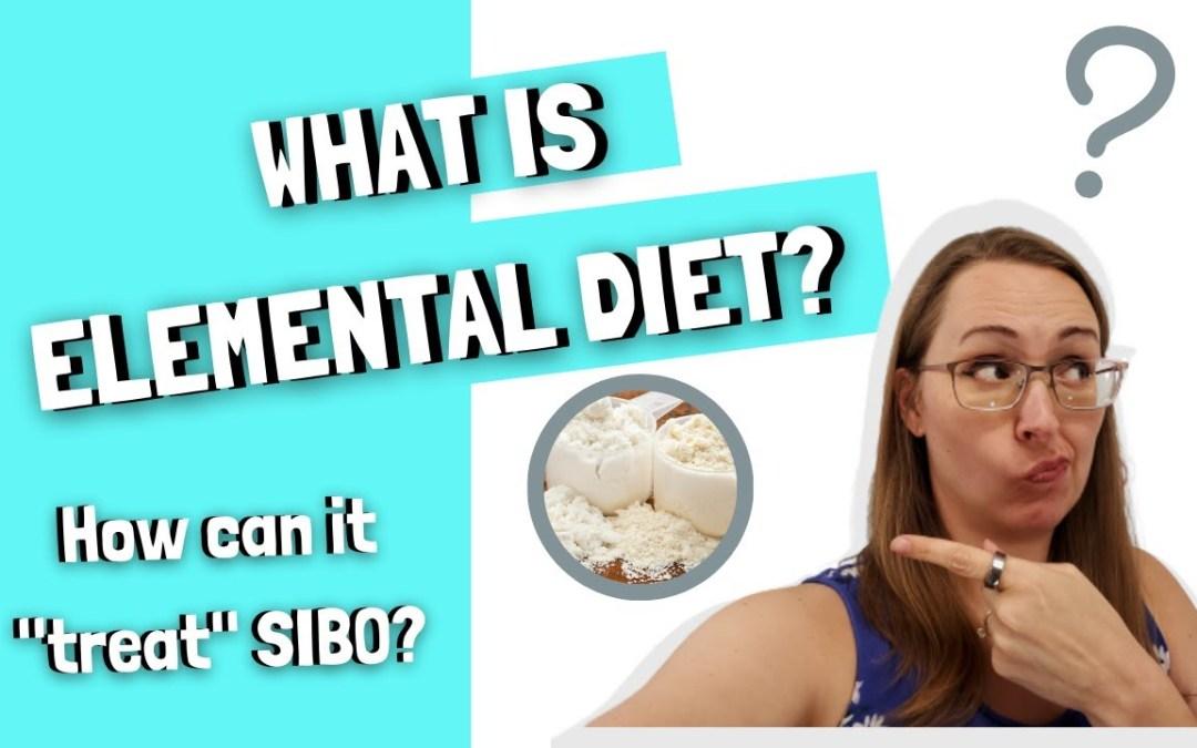 Elemental Diet for SIBO
