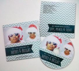 Customised Christmas CDs