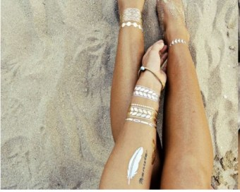 t-body-art-metal-24k-gold-tattoo-stickers-glitter-gold-temporary-flash-tattoo-disposable-indians-tattoo