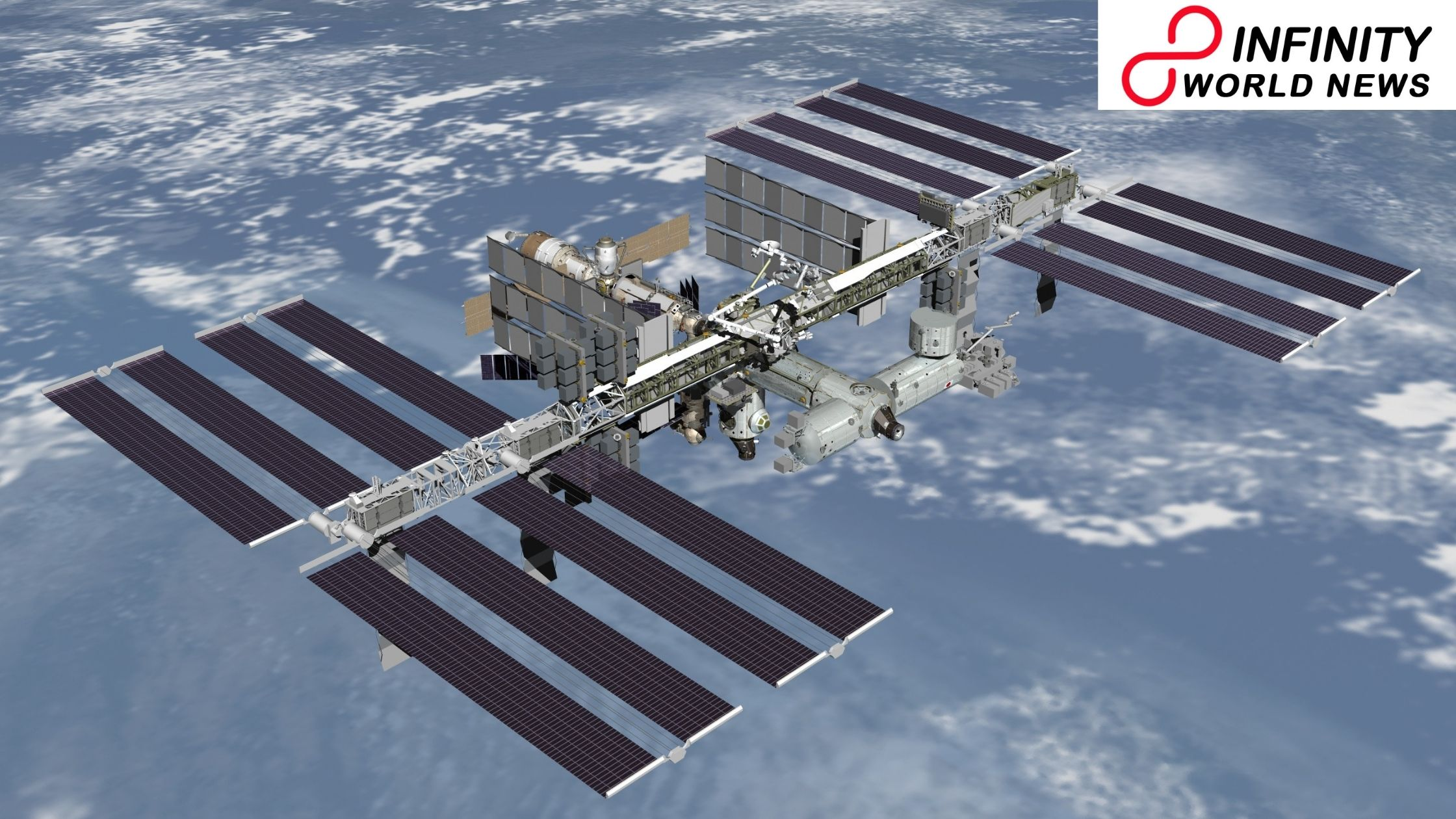 Space station checking 20 years of individuals living in the circle