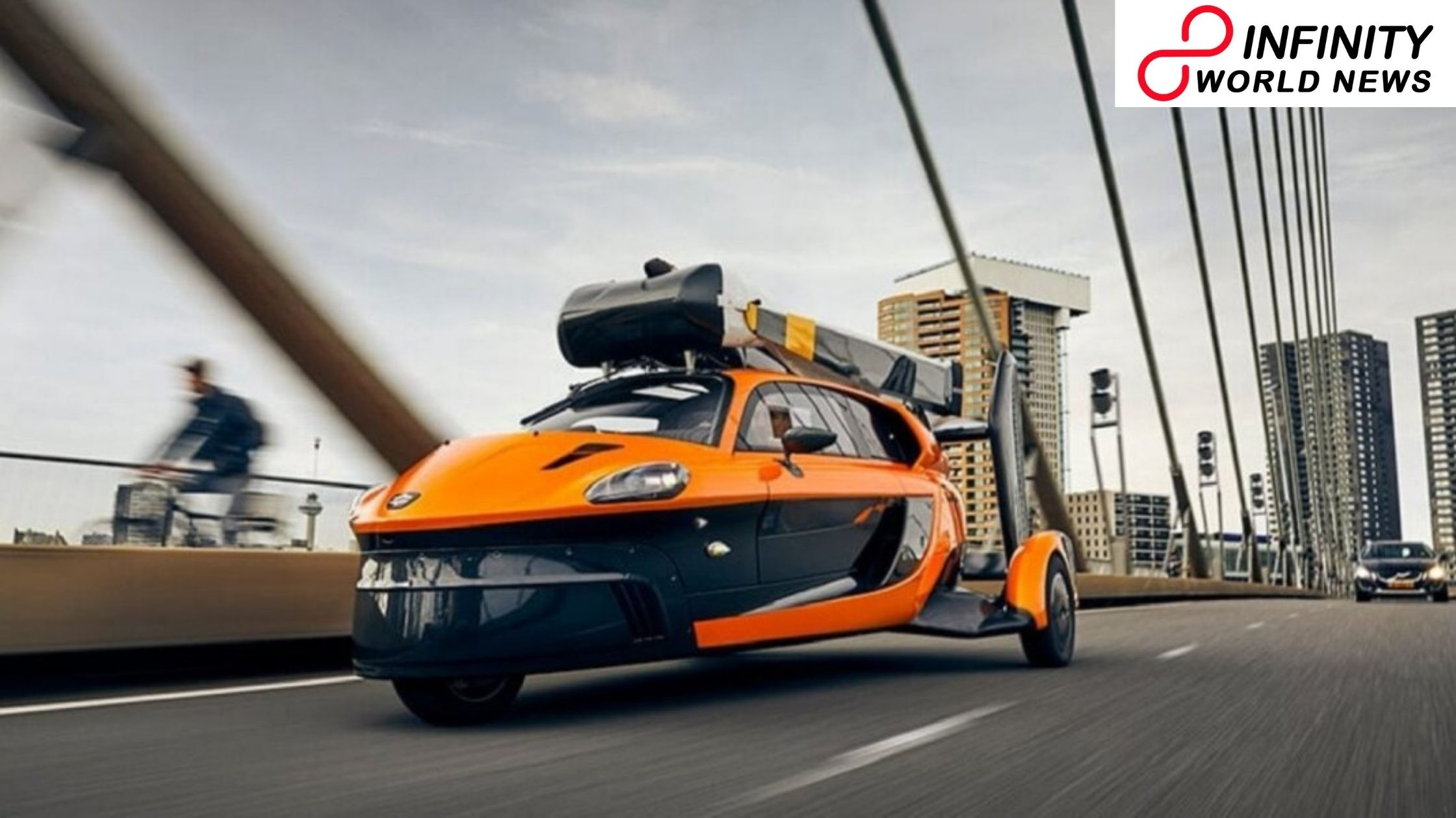 The World First Flying Car Is Hitting Roads in Holland