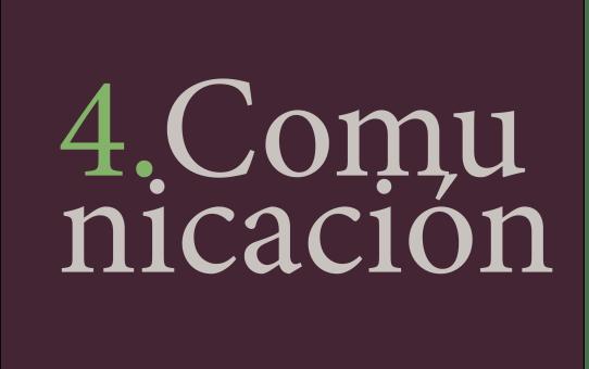 4. Estrategia de comunicación