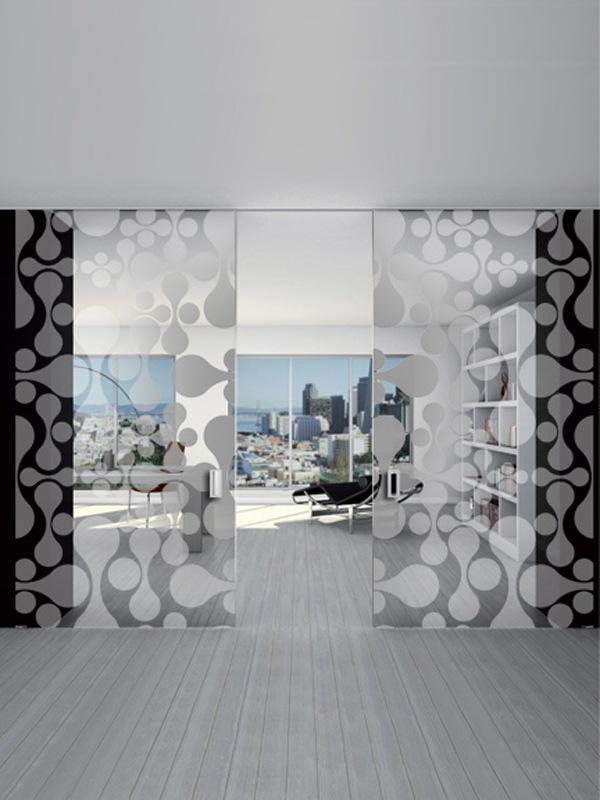 porte da interno in vetro roma