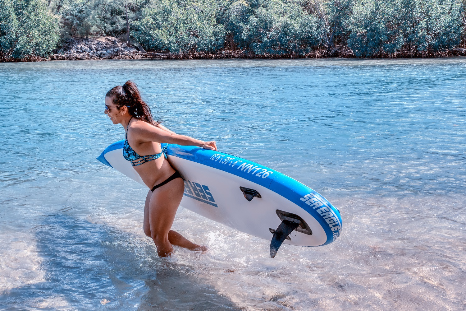 a8a66abe2771 Long Board 11: Inflatable Standup Paddleboard - Inflatable Boats 4 Less