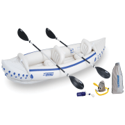 Sea Eagle 370 Deluxe Inflatable Kayak