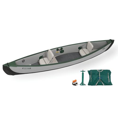 Sea Eagle Travel Canoe 16 Inflatable Canoe Basic