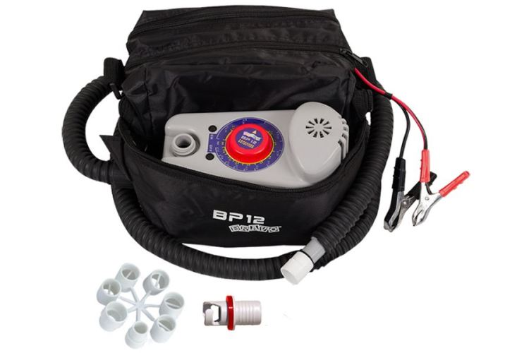 Inflatable kayak boat electric pump