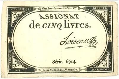 France – 5 livres, 1793