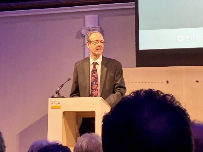 Sir James Bevan, Environment Agency head