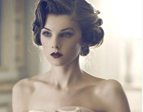 15 Best Ideas of Vintage  Updos For Long  Hair