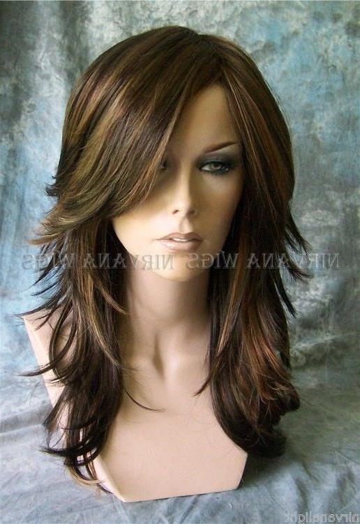 15 Collection Of Long Hairstyles Brown With Highlights