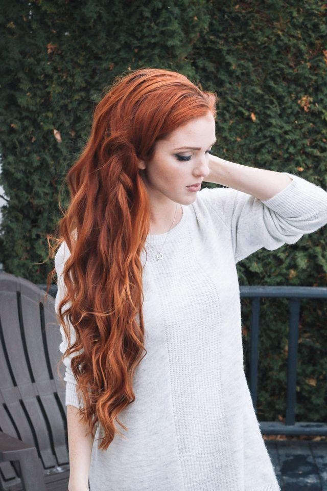 15 Best Collection of Long Hairstyles  Red  Hair