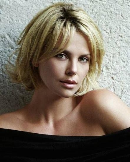 15 Collection Of Charlize Theron Bob Hairstyles