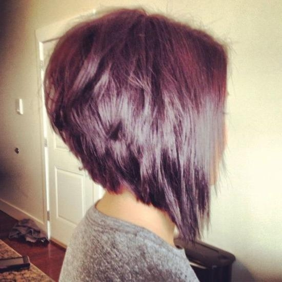 Hairstyle Long In Front Stacked Short Back Beautiful Haircut Shorter Longer