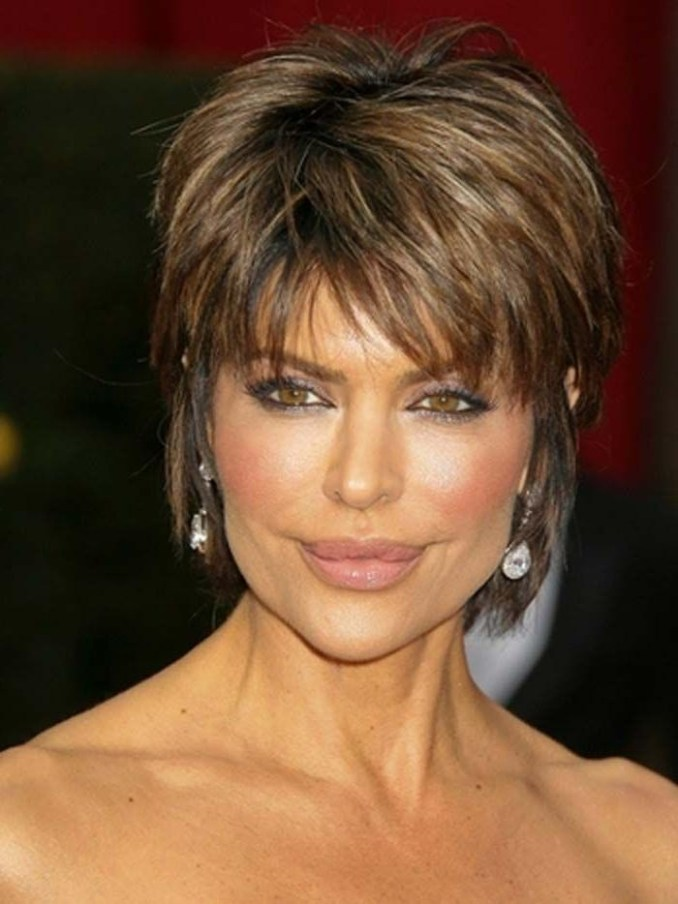 Image Result For Short Choppy Hairstyles Over