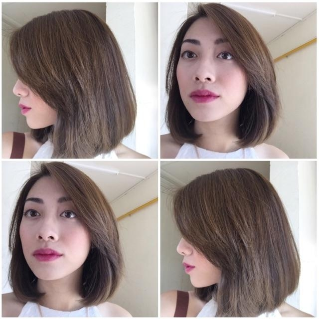 20 Ideas Of Rebonded Short Hairstyles