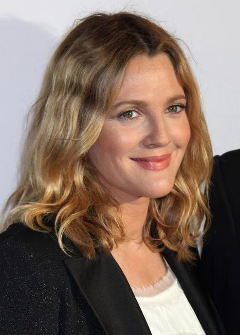 2018 Latest Drew Barrymore Short Haircuts