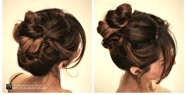 15 Inspirations of Easy  Casual Updos  For Long  Hair