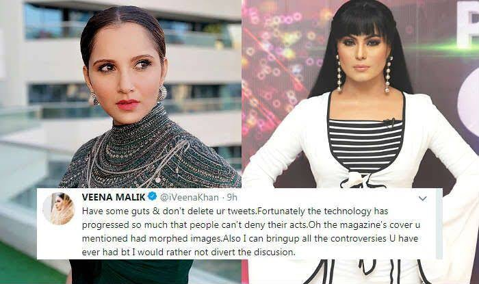 Sania and Veena's Twitter feud gets ugly