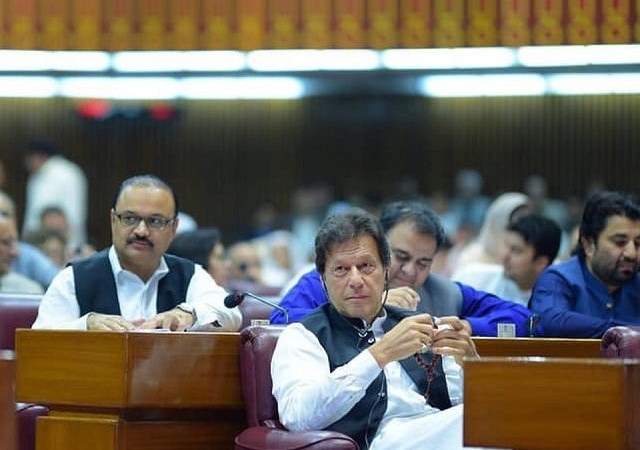 MNAs barred from using word 'selected' for PM Imran Khan