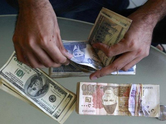 Rupee loses 4.10 against dollar in one day