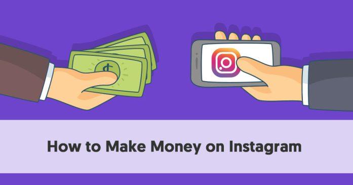 نتيجة بحث الصور عن How to make money from Instagram