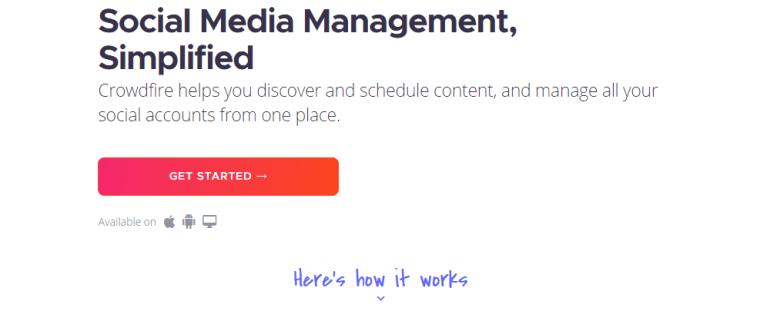 Crowdfire Social Media Tools |  Social Media |