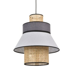 suspension lin cannage marketset gris clair anthracite