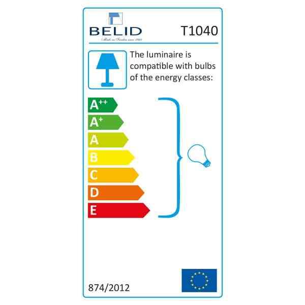 energy classes lighting belid influences
