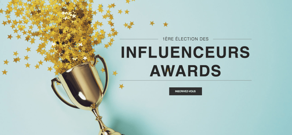 Influenceurs Family Awards