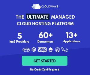 Cloudways側邊欄廣告