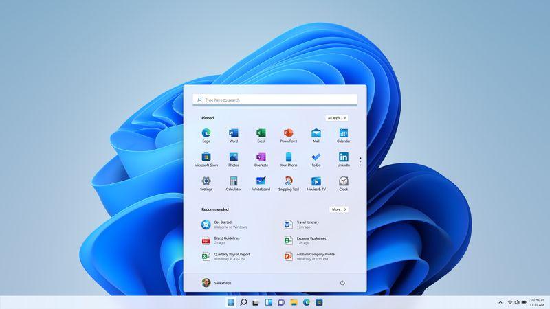 Windows 11開始功能列表