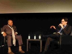 Quincy Jones and Ben Mankiewicz