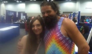 bethany rose and rupert boneham pop con