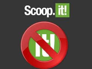 How to delete my scoop it account?