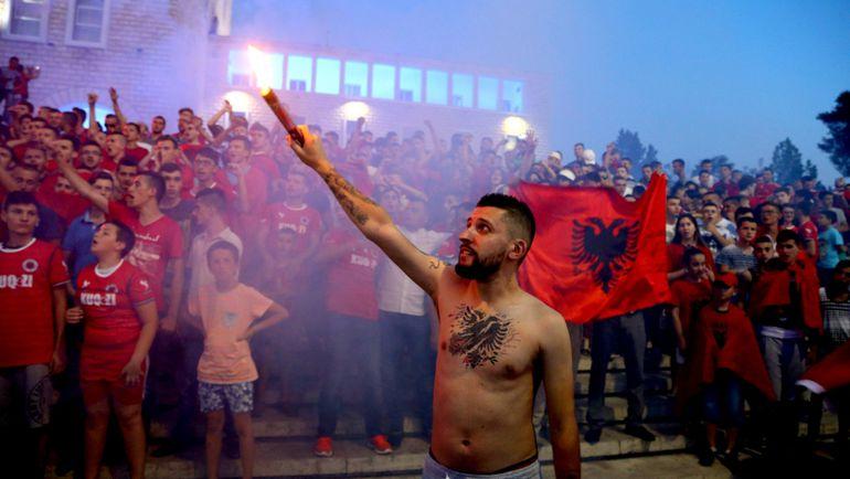 Столкновение сербов и албанцев в Швейцарии