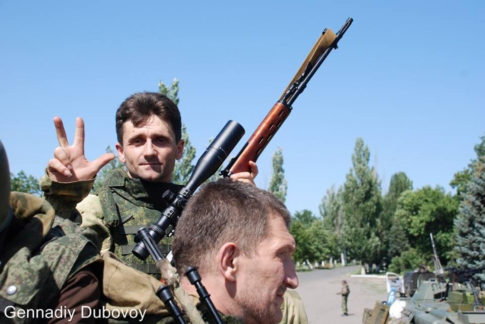 Сербский снайпер ополчения ДНР Деян Берич отомстил за смерть своего товарища