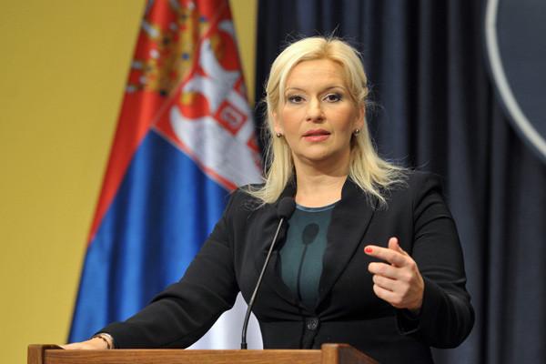 Вице-премьер Сербии Зорана Михайлович не рада визиту Дмитрия Рогозина