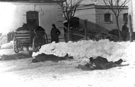 Жертвы облавы у команды XVI егерского батальона