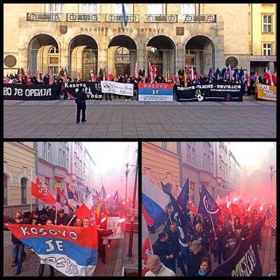 Чехи в поддержку Косово-2