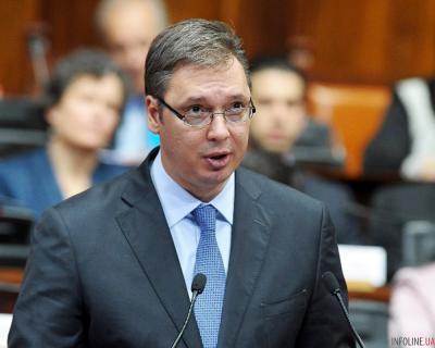 Александр Вучич: Запад нас шантажирует