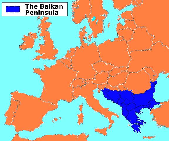 О военно-политической обстановке на Балканах