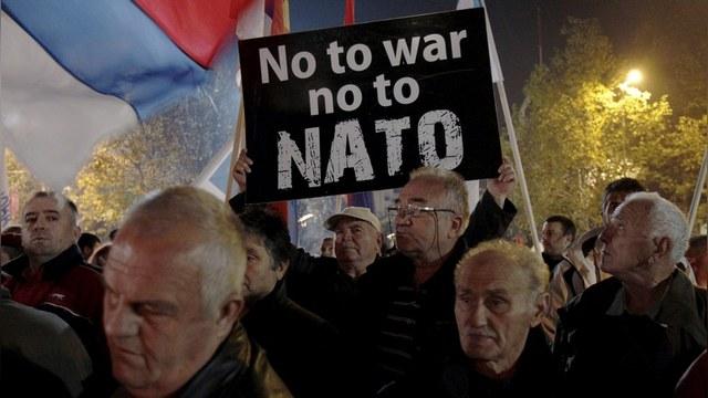 Черногория: 7 тысяч жителей выразили свой протест против НАТО